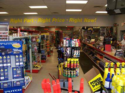 Auto Parts Store workers comp insurance